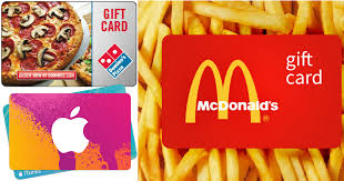 gift cards for kids discounted gift cards save on domino s pizza mcdonald s lowe s