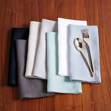 cloth napkins napkin rings west elm