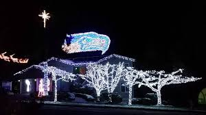 Christmas Lights House by Seahawks Christmas Lights 2014 Youtube