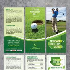 download graphicriver golf tournament tri fold brochure template