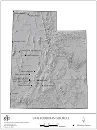 Utah Maps by Obsidian Source Maps United States