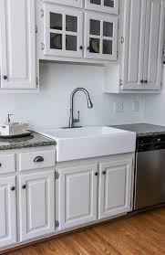 kitchen cabinet sink used how to add an apron front sink to existing granite counters