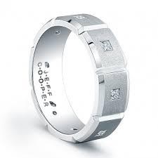 mens wedding band materials jeff cooper r3070 mens wedding ring