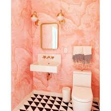pink bathroom ideas 20 pink bathroom ideas domino