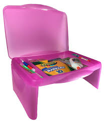 Lap Desk With Storage Compartment Kids Folding Lap Desk Pink Foldable Lap Tray With Storage