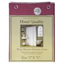 Burgundy Shower Curtain Liner Burgundy Vinyl Shower Curtain Liner Hotel Weight 8 Metal
