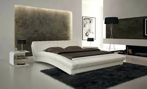 bed and living minimalist rooms