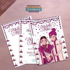 Wedding Invitation Cards India Atma Studios Branding Studio U0026 Illustration House Coimbatore India