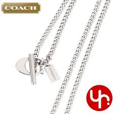 silver necklace cheap images Import collection rakuten global market and writing coach coach jpg