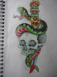 skull tattoo images free dagger doodle traditional free download tattoo 7232 tattoo ideas