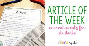 article of the week the colorful apple