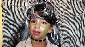 Halloween Costumes Frankie Stein Monster High by Frankie Stein Monster High Doll Costume Makeup Tutorial Halloween