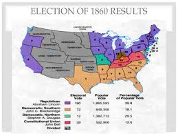 1860 Election Map by 3 2 Lincoln Secession And War Youtube