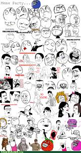 Meme Faces In Text Form - rage comics dummies guide to internet memes