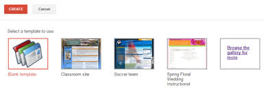 google sites e workbooks and e portfolios