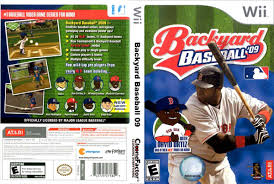 Backyard Baseball 10 Backyard Baseball Wii Outdoor Goods