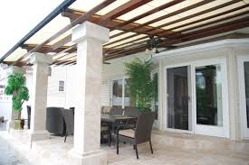 cooler deck retractable pergola roof by breslow home design