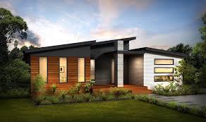 Contempo  Split Skillion Roof Modern Contemporary Home Plans - Modern contemporary homes designs