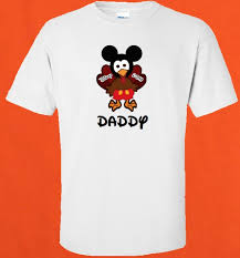 disney family thanksgiving turkey mickey and minnie vacation t