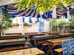 German Beer Garden Table by Loreley Beer Garden