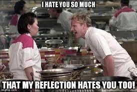 I Hate You Meme - my reflection imgflip