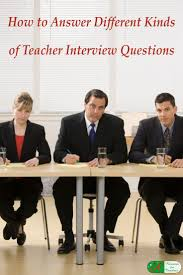 34 best teaching job interview questions and answers images on