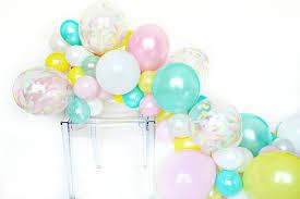 balloon garland diy balloon garland kit 60 balloons mixed pearl