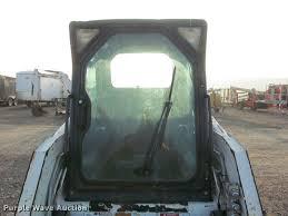 bobcat door glass 2009 bobcat s160 skid steer item k3962 sold may 23 shar