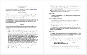 contract templates microsoft word templates