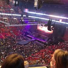 americanairlines arena section 311 concert seating rateyourseats com