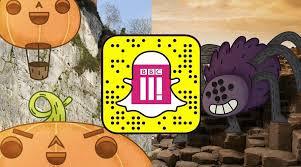 halloween illustrations bbc three halloween snapchat on behance