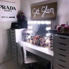 Small Corner Makeup Vanity Furniture Vanity Makeup Desk With Lights Makeup Desk With