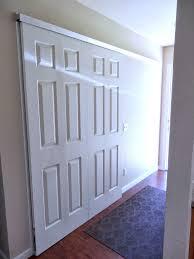 Six Panel Closet Doors Home Design Cool Mirrored Bifold Closet Doors Next To White Door