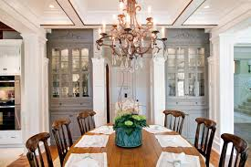 Dining Room Built Ins Traditional Dining Room With Custom China Cabinets