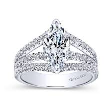 marquise diamond engagement ring 14kt marquise 3 row split shank diamond engagement ring jupiter