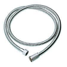 grohe relexaflex 59 in shower hose in starlight chrome 28151000 shower hose in starlight chrome