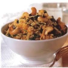 cuisine indienne riz riz aux pousses d épinards à l indienne recettes de cuisine indienne