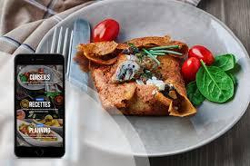 cuisine pour sportif exemples de menu sportif fizzup