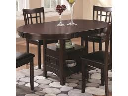 coaster dining room sets coaster lavon dining table with storage miskelly furniture