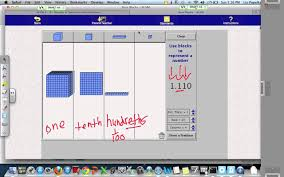 base ten blocks and decimal place value youtube