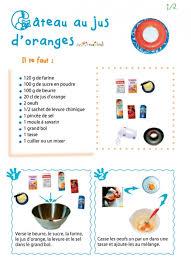 imprimer la recette du gâteau au jus d orange 1