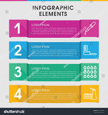 modern oil infographic template infographic design stock vector