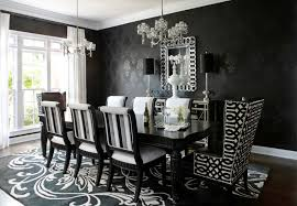 black and white dining room ideas timeless black white dining room designs for glamorous ambiance