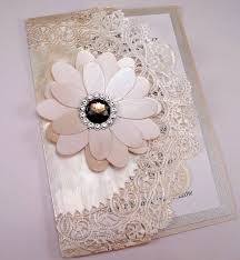 Latest Designs Of Marriage Invitation Cards Vintage Couture Wedding Invitation Swarovski Crystal Smokey Jewel