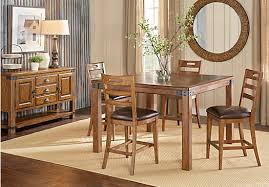 Reasonable Dining Room Sets by Eric Church Highway To Home Heartland Falls Brown 5 Pc