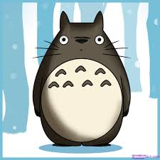how to draw totoro step by step anime characters anime draw