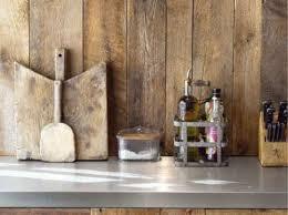credence cuisine bois quel crédence choisir prix moyen verre bois inox peinture