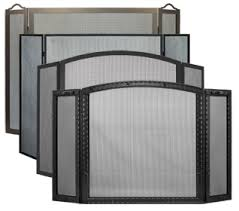 Free Standing Fireplace Screens usa made custom fireplace screens stoll fireplace inc