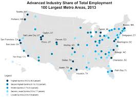 Sc Metro Map by Meet The Country U0027s Top Advanced Industry Hotspots