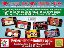 thanksgiving research for kids ruckus media u0027s app sales support st jude children u0027s research